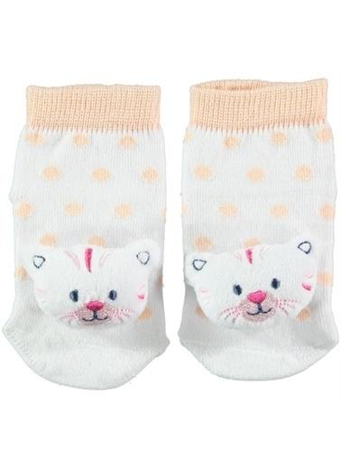 Mininio Minidamla Çınıraklı Çorap 41893 Renkli